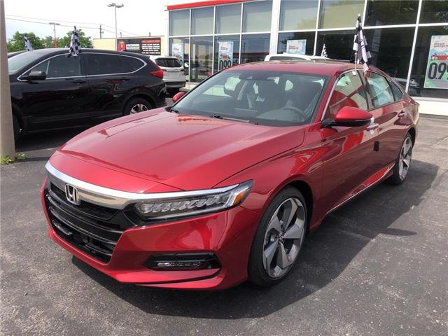 2019 Honda Accord Touring 1.5T (Stk: N5174) in Niagara Falls - Image 2 of 5
