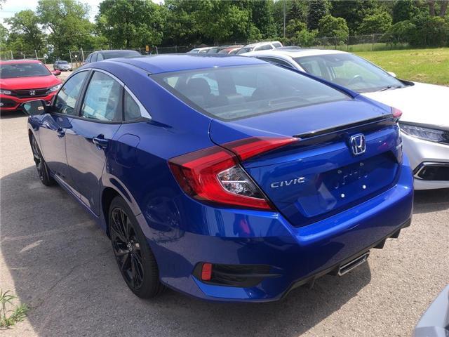 2019 Honda Civic Sport (Stk: N5181) in Niagara Falls - Image 3 of 5