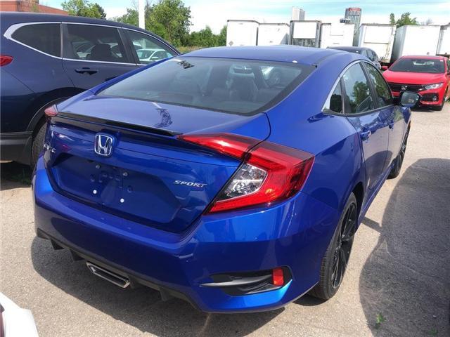 2019 Honda Civic Sport (Stk: N5181) in Niagara Falls - Image 4 of 5