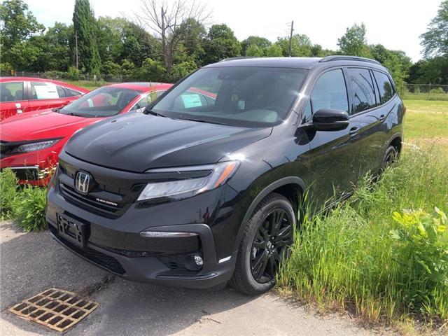 2019 Honda Pilot Black Edition (Stk: N5193) in Niagara Falls - Image 1 of 5