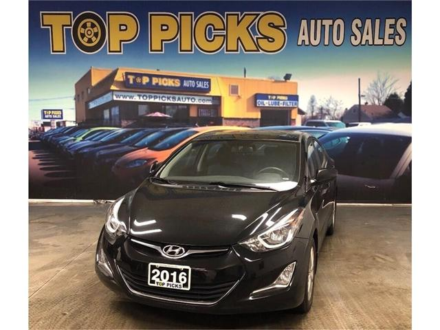 2016 Hyundai Elantra Sport Appearance (Stk: 591338) in NORTH BAY - Image 1 of 26