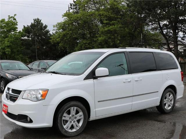 2017 Dodge Grand Caravan Crew| Navi| DVD| Leather| 3rd Row| Loaded! (Stk: 5400) in Stoney Creek - Image 2 of 19