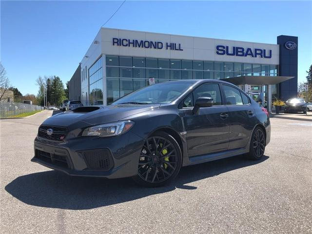 2019 Subaru WRX STI Sport (Stk: P03820) in RICHMOND HILL - Image 1 of 25