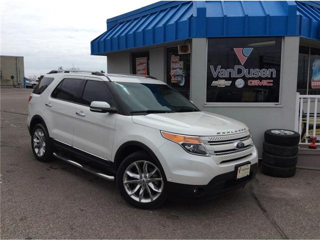 2015 Ford Explorer Limited (Stk: B7383) in Ajax - Image 1 of 24