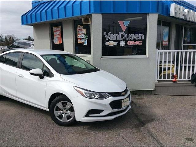 2016 Chevrolet Cruze LS Auto (Stk: B7395A) in Ajax - Image 1 of 19