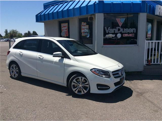 2015 Mercedes-Benz B-Class Sports Tourer (Stk: 194725A) in Ajax - Image 1 of 21