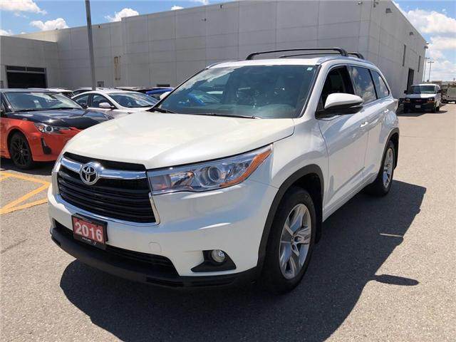 2016 Toyota Highlander Limited (Stk: 354022T) in Brampton - Image 1 of 21