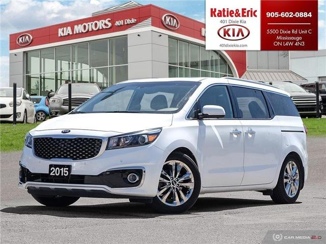 2015 Kia Sedona  (Stk: K3070) in Mississauga - Image 1 of 30