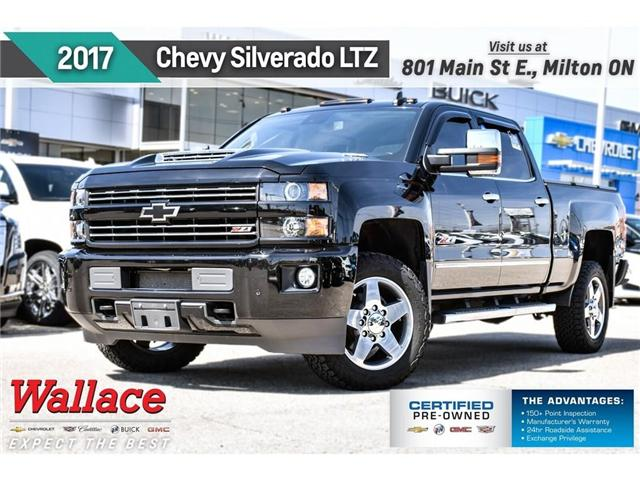 2017 Chevrolet Silverado 2500HD LTZ/Z71/CUSTOM SPORT/LTZ+ PKG/20s/HD TRILR/LOADED! (Stk: PR5067) in Milton - Image 1 of 29