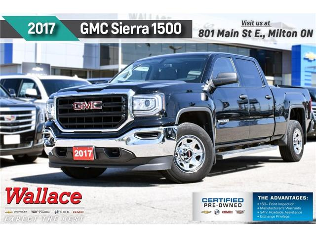 2017 GMC Sierra 1500 5.3L V8/4X4/TRAILR PK/G80/CONVENIENCE PK (Stk: PR5075) in Milton - Image 1 of 22