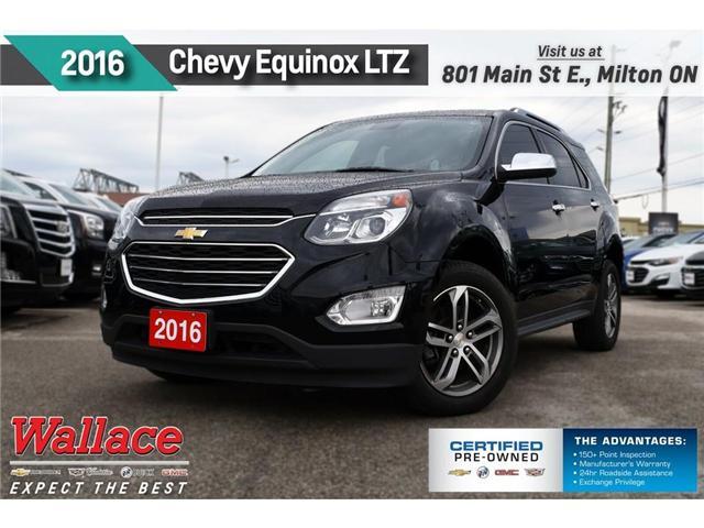 2016 Chevrolet Equinox LTZ/AWD/SUNRF/NAV/HTD LTHR STS/PIONEER/RMT STRT (Stk: PL5207) in Milton - Image 1 of 29