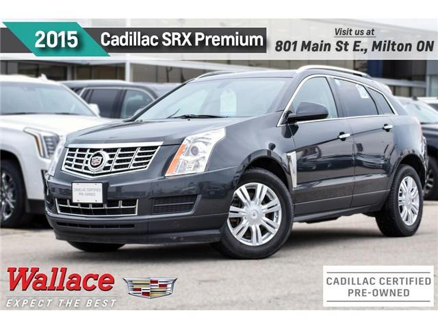 2015 Cadillac SRX Luxury/AWD/SUNRF/HTD SEATS/NAV/BOSE/BLIND ZNE/18s (Stk: PL5209) in Milton - Image 1 of 27