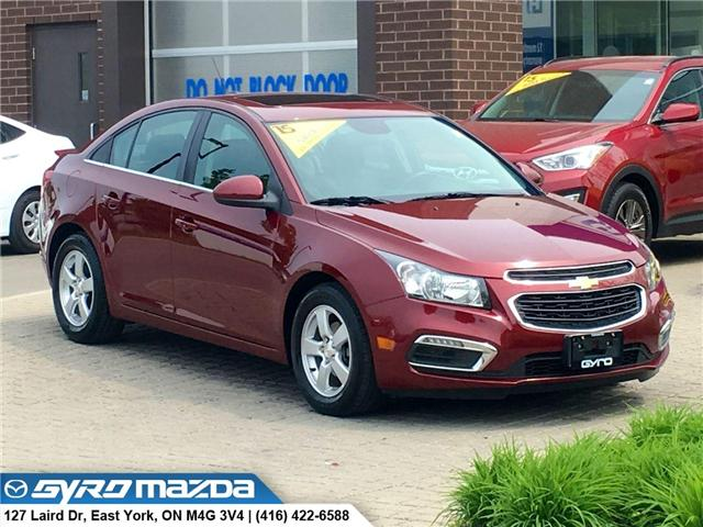 2015 Chevrolet Cruze 2LT (Stk: 28595A) in East York - Image 1 of 30