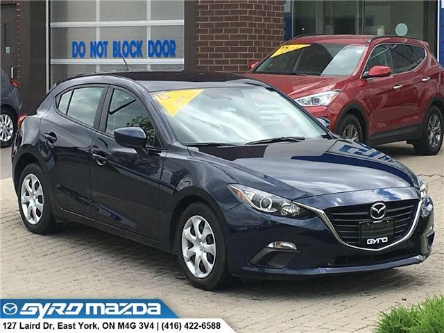 2015 Mazda Mazda3 Sport GX (Stk: 28508) in East York - Image 1 of 30