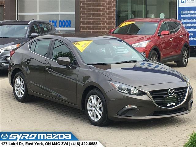2015 Mazda Mazda3 GS (Stk: 28845) in East York - Image 1 of 30