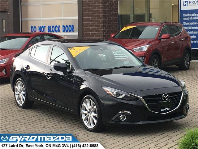 2015 Mazda Mazda3 GT (Stk: 28682A) in East York - Image 1 of 30
