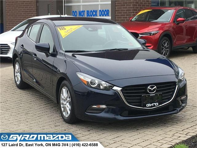 2018 Mazda Mazda3 Sport GS (Stk: 28692A) in East York - Image 1 of 30