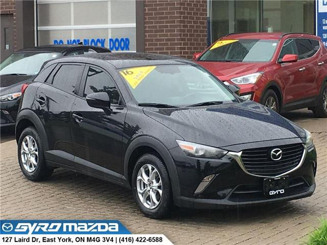 2016 Mazda CX-3 GS (Stk: 28802A) in East York - Image 1 of 30