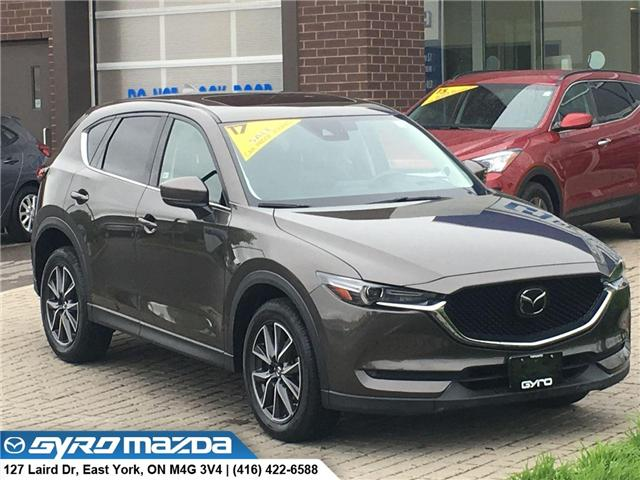 2017 Mazda CX-5 GT (Stk: 28781A) in East York - Image 1 of 30