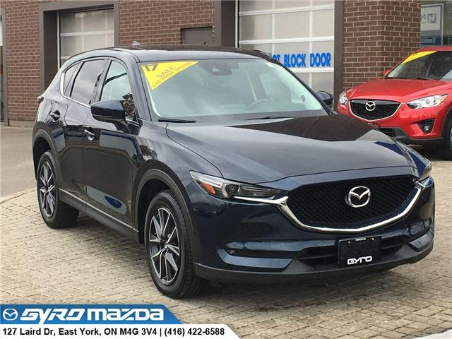 2017 Mazda CX-5 GT (Stk: 28537A) in East York - Image 1 of 30