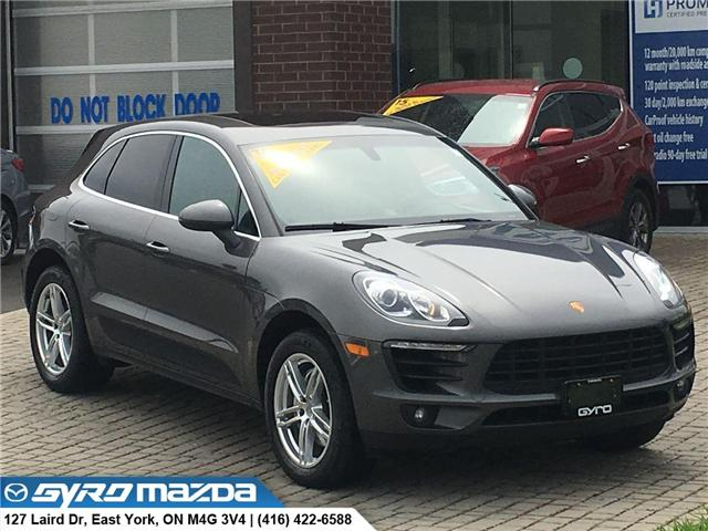 2015 Porsche Macan S (Stk: 27468A) in East York - Image 1 of 30