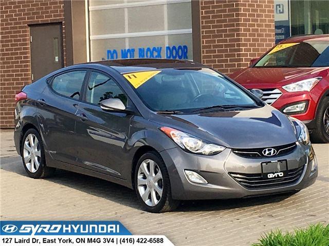 2011 Hyundai Elantra Limited (Stk: H4713A) in Toronto - Image 1 of 30