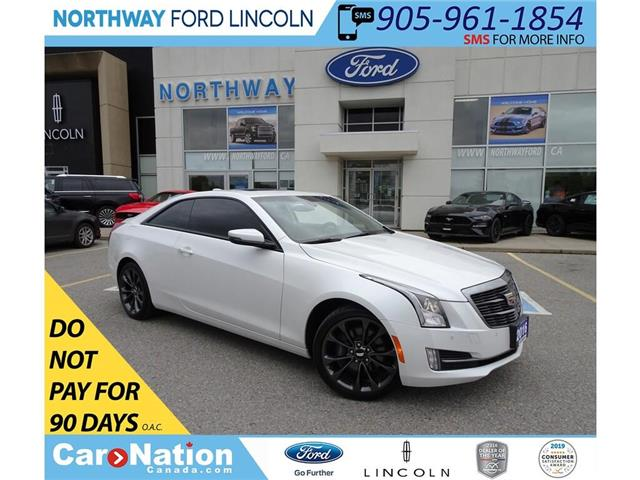 2016 Cadillac ATS Luxury | AWD | NAV | HTD LEATHER | SUNROOF | TURBO (Stk: LL85358B) in Brantford - Image 1 of 40