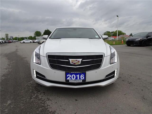 2016 Cadillac ATS Luxury | AWD | NAV | HTD LEATHER | SUNROOF | TURBO (Stk: LL85358B) in Brantford - Image 2 of 40