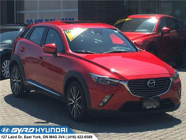 2016 Mazda CX-3 GT (Stk: 28453) in Toronto - Image 1 of 30