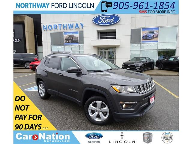 2018 Jeep Compass North | 4x4 | LEATHER | BLUETOOTH | PUSH START | (Stk: DR272) in Brantford - Image 1 of 37