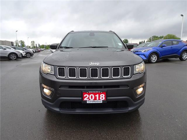 2018 Jeep Compass North | 4x4 | LEATHER | BLUETOOTH | PUSH START | (Stk: DR272) in Brantford - Image 2 of 37