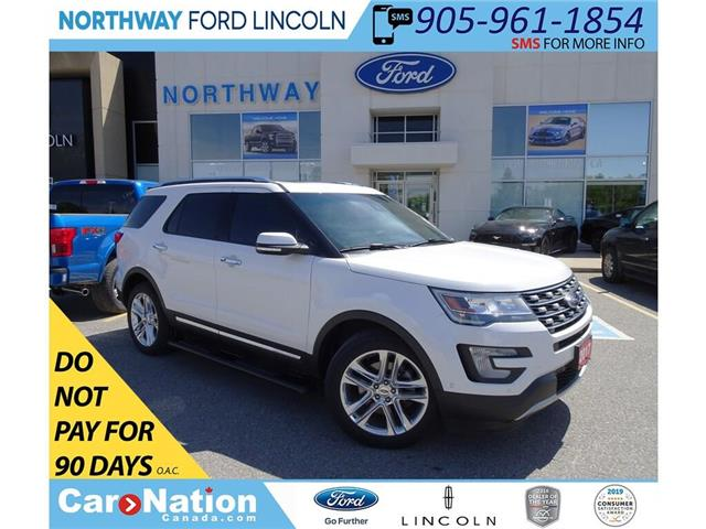 2017 Ford Explorer Limited | AWD | NAV | PANOROOF  | BLIS | MSRP 58K! (Stk: DR142A) in Brantford - Image 1 of 50