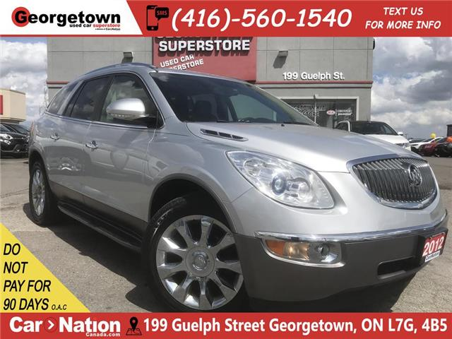 2012 Buick Enclave CXL | AWD | 8 PASS | LEATHER | DVD | ROOF | BU CAM (Stk: P12046) in Georgetown - Image 1 of 35
