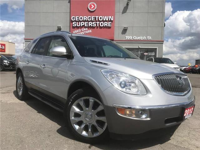 2012 Buick Enclave CXL | AWD | 8 PASS | LEATHER | DVD | ROOF | BU CAM (Stk: P12046) in Georgetown - Image 2 of 35