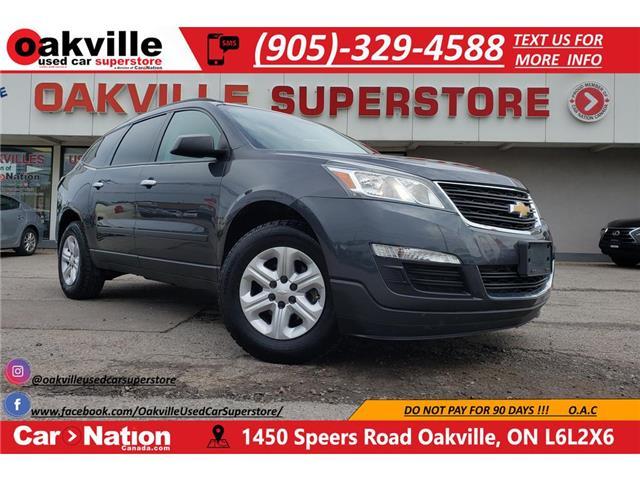 2013 Chevrolet Traverse LS | ONSTAR | B/U CAM | BLUETOOTH | AUX | IPOD (Stk: P12257) in Oakville - Image 1 of 21