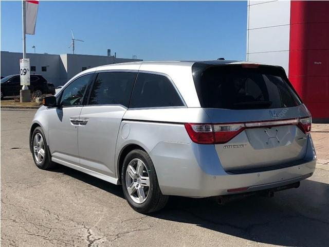 2011 Honda Odyssey Touring-Navi,DVD,Roof,Leather, fully loaded! (Stk: M19A004A) in Maple - Image 2 of 27