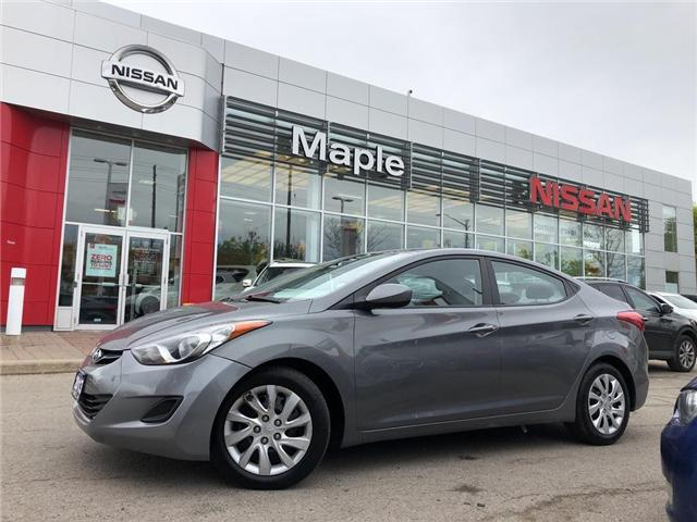 2013 Hyundai Elantra GL Auto-Heated Seats,A/C,Auto, (Stk: M19R083A) in Maple - Image 1 of 22