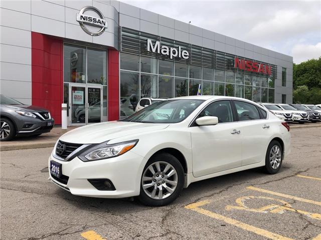 2016 Nissan Altima Starter,A/C,Camera,Low Mileage,Clean Carfax! (Stk: M19Q036A) in Maple - Image 1 of 21