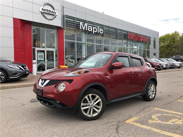 2016 Nissan Juke SL AWD-NAVI,LEATHER,ROOF,ALLOYS (Stk: M19Q062A) in Maple - Image 1 of 24
