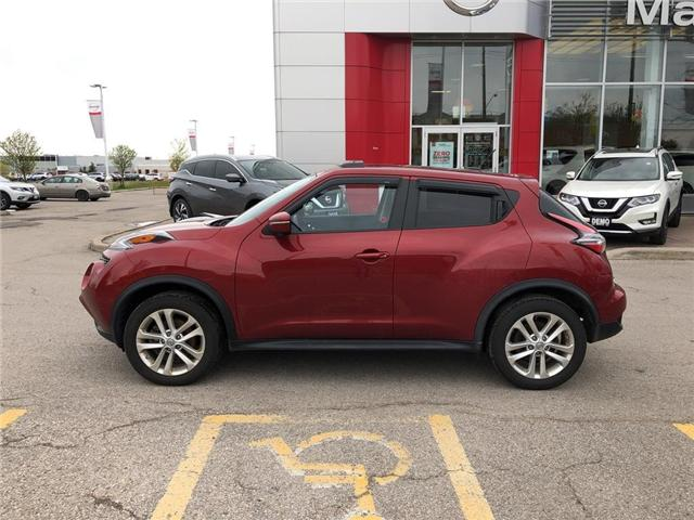 2016 Nissan Juke SL AWD-NAVI,LEATHER,ROOF,ALLOYS (Stk: M19Q062A) in Maple - Image 2 of 24
