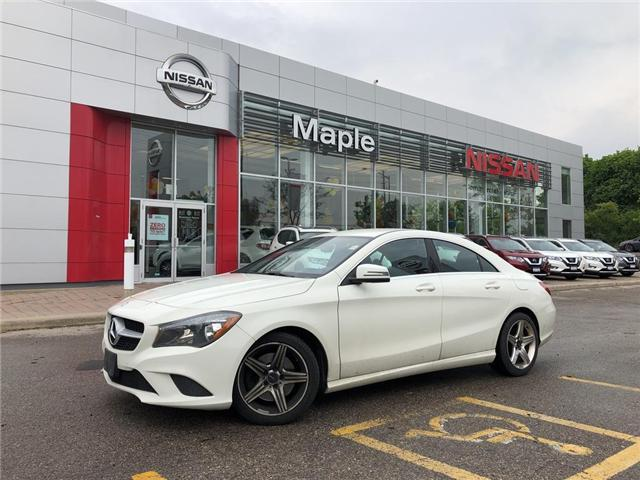 2014 Mercedes-Benz CLA-Class CLA250-Leather,Alloys,Low Mileage,Heated Seats! (Stk: LM363A) in Maple - Image 1 of 22