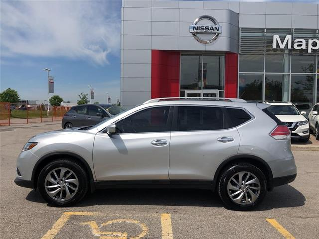 2014 Nissan Rogue SL AWD--LEATHER,ROOF,NAVI,CLEAN CARFAX! (Stk: LM364) in Maple - Image 2 of 25