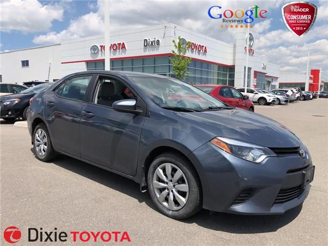 2014 Toyota Corolla  (Stk: D190928A) in Mississauga - Image 1 of 13
