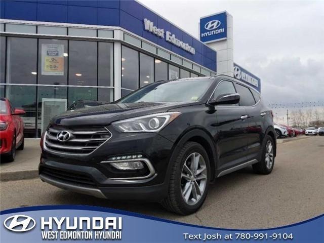 2017 Hyundai Santa Fe Sport  (Stk: E4442) in Edmonton - Image 1 of 25