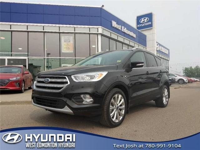2017 Ford Escape Titanium (Stk: 97918A) in Edmonton - Image 1 of 23
