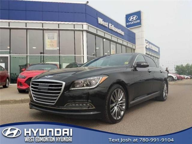 2015 Hyundai Genesis 5.0 Ultimate (Stk: E4485) in Edmonton - Image 1 of 29