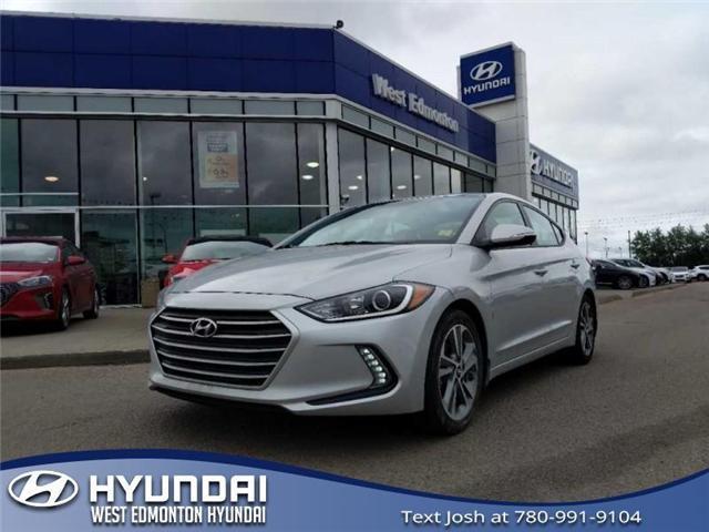 2017 Hyundai Elantra GLS (Stk: E4465) in Edmonton - Image 1 of 23