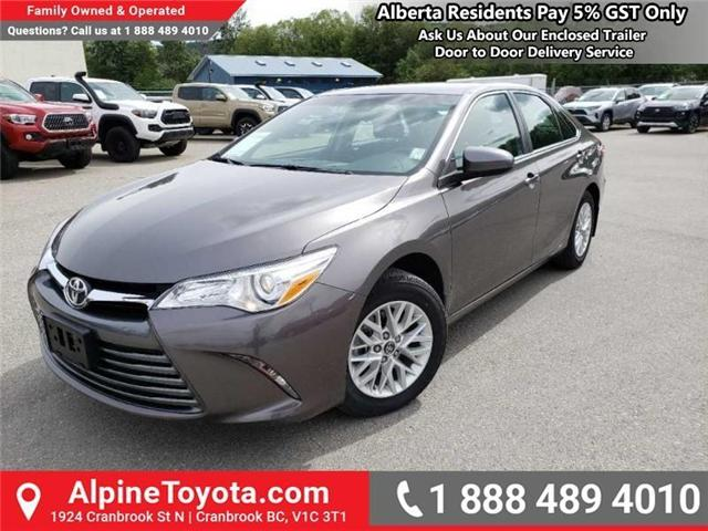 2017 Toyota Camry LE (Stk: U769008) in Cranbrook - Image 1 of 14