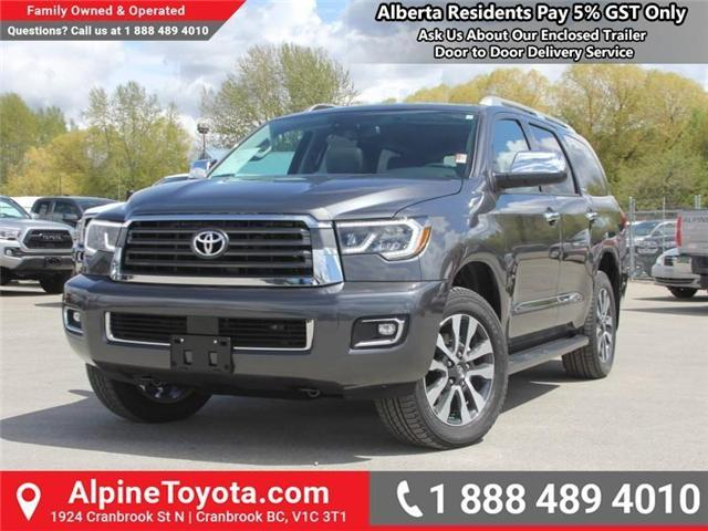 2018 Toyota Sequoia Limited 5.7L V8 (Stk: S161271) in Cranbrook - Image 1 of 21