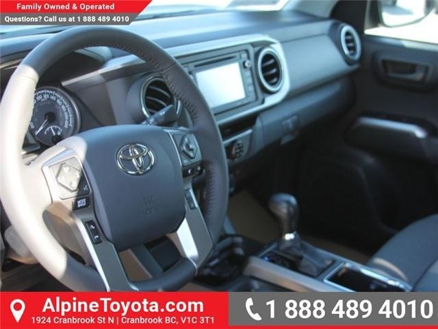 2018 Toyota Tacoma SR5 (Stk: X060471) in Cranbrook - Image 9 of 16